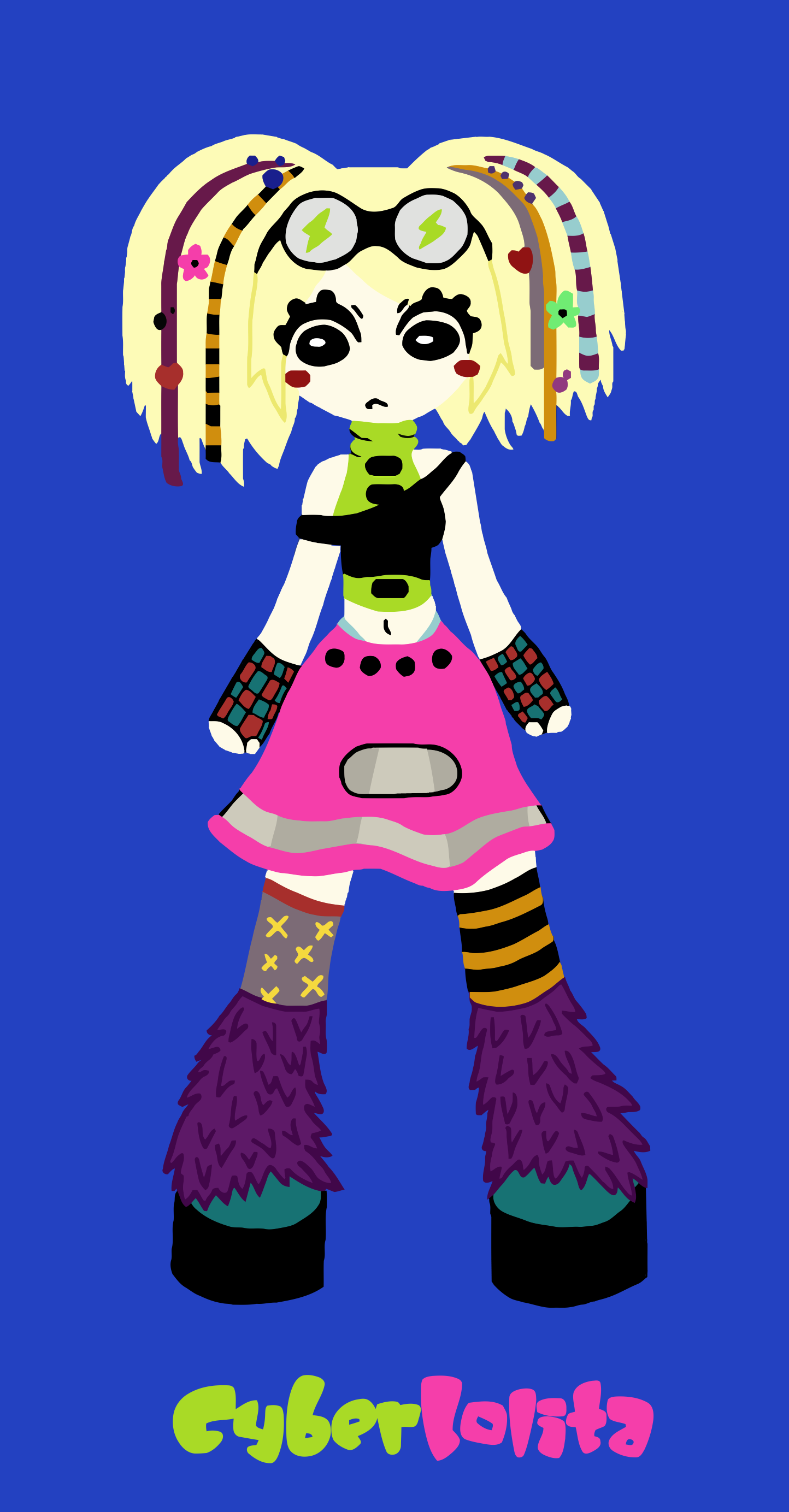 Repaso rápido a los generos del lolita Cyber-lolita